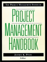 Cover of: The Project Management Institute |