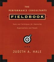 Cover of: The performance consultant's fieldbook