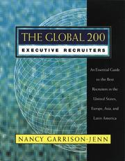 Cover of: The global 200 executive recruiters