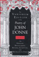 Cover of: The variorum edition of the poetry of John Donne