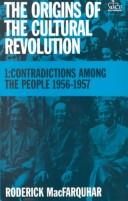 Cover of: Contradictions among the people, 1956-1957