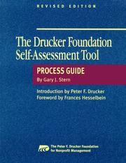 Cover of: Drucker Foundation self-assessment tool | Gary J. Stern