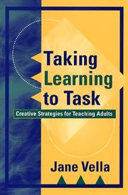Cover of: Taking learning to task