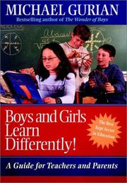 Cover of: Boys and Girls Learn Differently! | Michael Gurian
