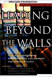 Cover of: Leading Beyond the Walls |