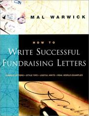 Cover of: How to write successful fundraising letters