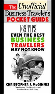 Cover of: The unofficial business traveler's pocket guide