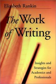 Cover of: The work of writing