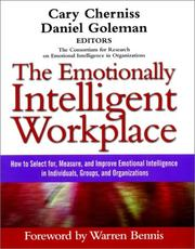 Cover of: The Emotionally Intelligent Workplace |