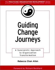 Cover of: Guiding Change Journeys | Rebecca Chan Allen