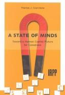 Cover of: A State of Minds | Thomas J. Courchene