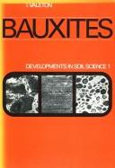 Cover of: Bauxites. | Ida Valeton