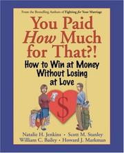 Cover of: You Paid How Much For That? | Natalie H. Jenkins, Scott M. Stanley, William C. Bailey, Howard J. Markman