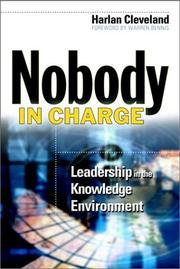 Cover of: Nobody in Charge