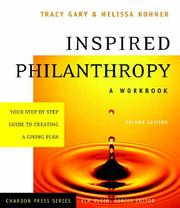 Cover of: Inspired philanthropy | Tracy Gary