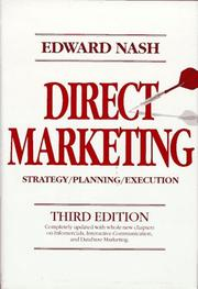 Cover of: Direct Marketing | Edward L. Nash