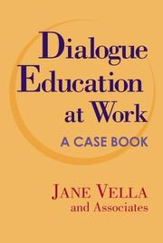 Cover of: Dialogue education at work