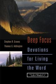 Cover of: Deep focus : devotions for living the Word