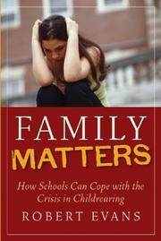 Cover of: Family matters
