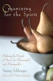 Cover of: Organizing for the Spirit