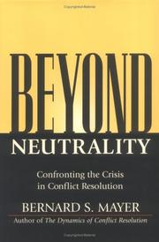 Cover of: Beyond neutrality