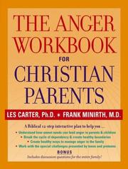 Cover of: The anger workbook for Christian parents