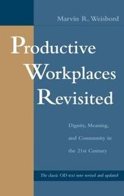Cover of: Productive workplaces revisited