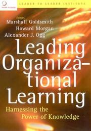 Cover of: Leading Organizational Learning | Howard Morgan