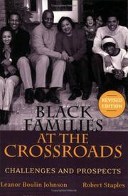 Cover of: Black families at the crossroads | Leanor Boulin Johnson