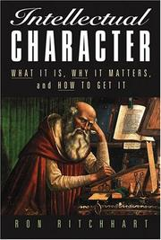 Cover of: Intellectual Character | Ron Ritchhart