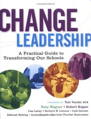 Cover of: Change Leadership | Tony Wagner