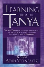 Cover of: Learning From the Tanya