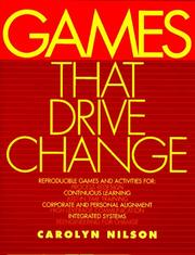 Cover of: Games that drive change