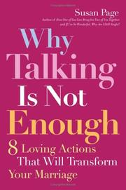 Cover of: Why Talking Is Not Enough