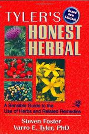 Cover of: Tyler's honest herbal