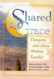 Cover of: Shared grace : therapists and clergy working together |