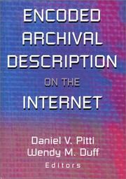 Cover of: Encoded Archival Description on the Internet |