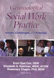Cover of: Gerontological Social Work Practice |