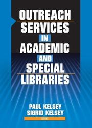Cover of: Outreach Services in Academic and Special Libraries |