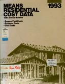 Cover of: Means residential cost data. |