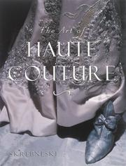Cover of: The art of haute couture