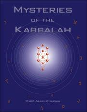Cover of: Mysteries of the Kabbalah