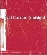 Cover of: David Carson: 2nd Sight