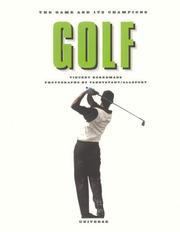 Cover of: Golf | Vincent Borremans