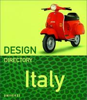 Cover of: Design directory Italy | Claudia Neumann