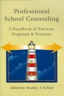 Cover of: Professional school counseling |