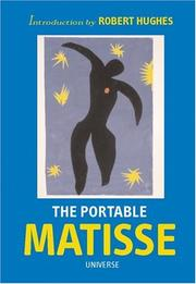 Cover of: The portable Matisse