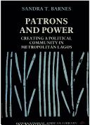 Cover of: Patrons and Power (International African Library)
