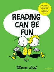 Cover of: Reading can be fun