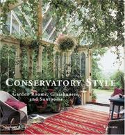 Cover of: Conservatory Style